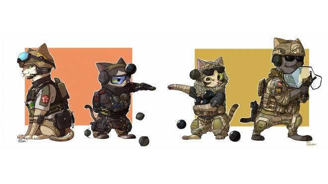 Rainbow Six: Memes - Rainbow 6 Cats image 3