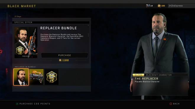 Call of Duty: General - New Replacer bundle in the shop today for #BlackOps4 image 2