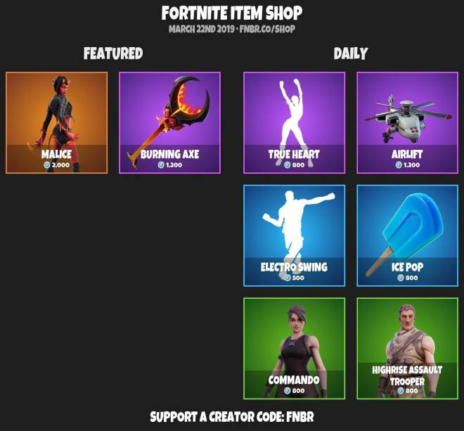 Fortnite: Battle Royale - ITEMSHOP 3-21-19 image 5