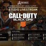 Join us Monday at 11PM PT for our next Studio Livestream with intel on what's coming up in #BlackOps