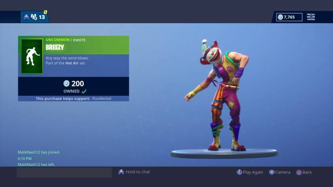 "Fortnite: Battle Royale - Fury Flexes: ""I'm Pennywise! The DANCING CLOWN""  image 3"