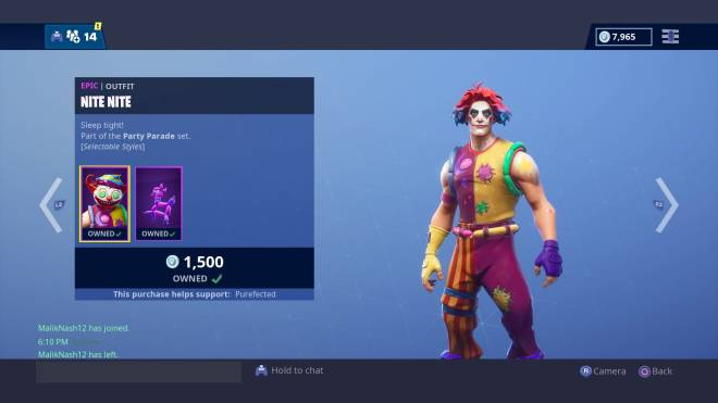 "Fortnite: Battle Royale - Fury Flexes: ""I'm Pennywise! The DANCING CLOWN""  image 2"