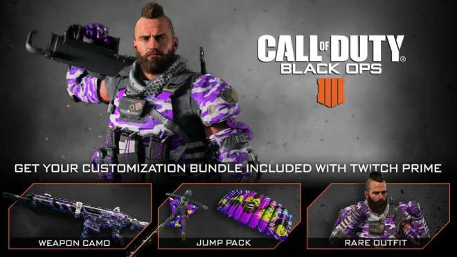 Call of Duty: General - Link your Twitch Prime account to unlock the Customization Bundle image 2