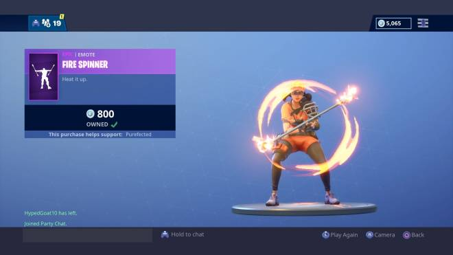 Fortnite: Battle Royale - Fury Flexes: Playing with Fire 🔥  image 2