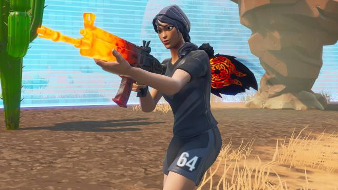 Fortnite: Battle Royale - 13 Kill Solo Dub with the Power of 6️⃣4️⃣ image 3
