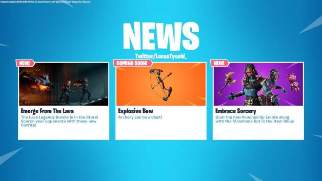 Fortnite: Battle Royale - NEWS FEED UPDATED  image 1