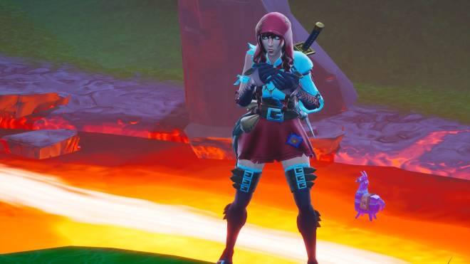 Fortnite: Battle Royale - Fable Showcase (Little Red Riding Hood) image 5
