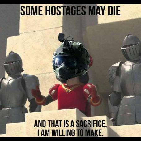 Rainbow Six: Memes - Every fuze player on hostage... image 2
