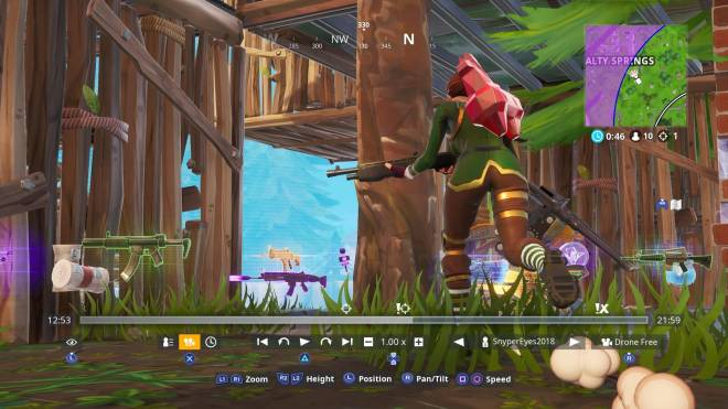 Fortnite: Battle Royale - Snyper's Action Shots image 3