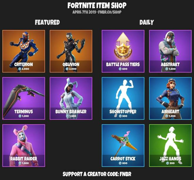 Fortnite: Battle Royale - ITEMSHOP 4-6-19 image 2