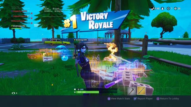 Fortnite: Battle Royale - Finally Hit 200 Wins image 6