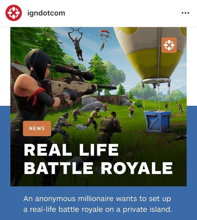 Fortnite: Battle Royale - Well this is a thing  image 1