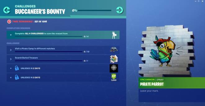 Fortnite: Promotions - SECOND CHALLENGE IS NOW LIVE  image 1