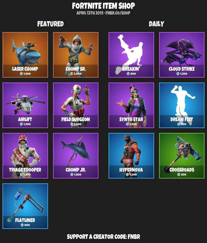Fortnite: Battle Royale - ITEMSHOP 4-12-19 image 4