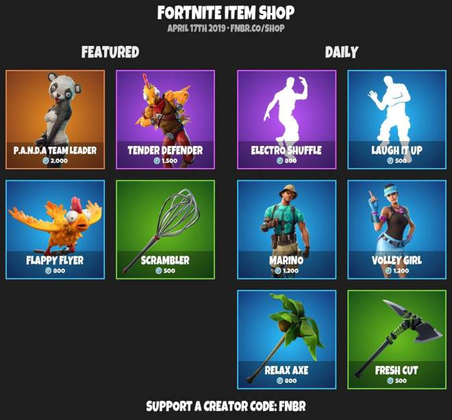 Fortnite: Battle Royale - ITEMSHOP 4-16-19 image 2