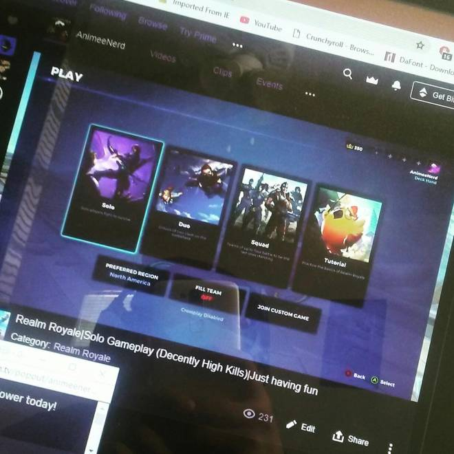 Realm Royale: General - Live Streaming. NOW! image 2
