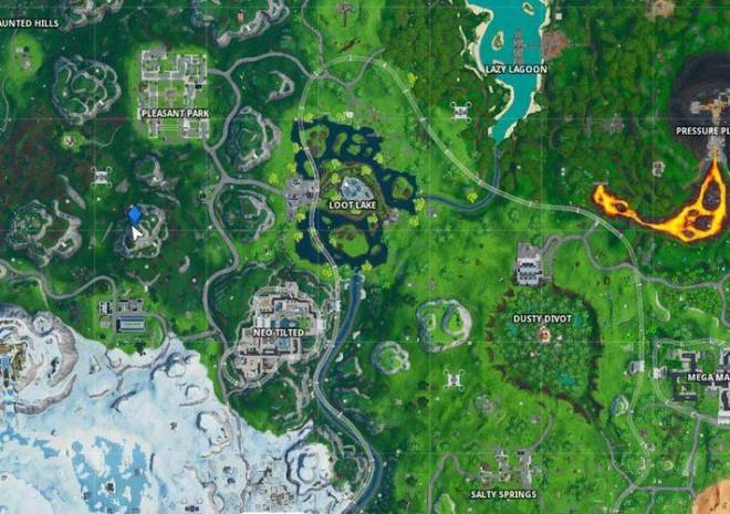 Fortnite: Battle Royale - Fortbyte 64 Location Guide image 4