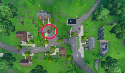 Fortnite: Battle Royale - Fortbyte 72 Location Guide -LEAK image 9