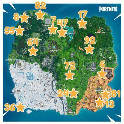 Fortnite: Battle Royale - Fortbyte 72 Location Guide -LEAK image 13
