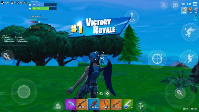 Fortnite: Memes - Not Bad For A Bot XD #mobile #bot #squadcarry #fortnite #victoryroyale image 1