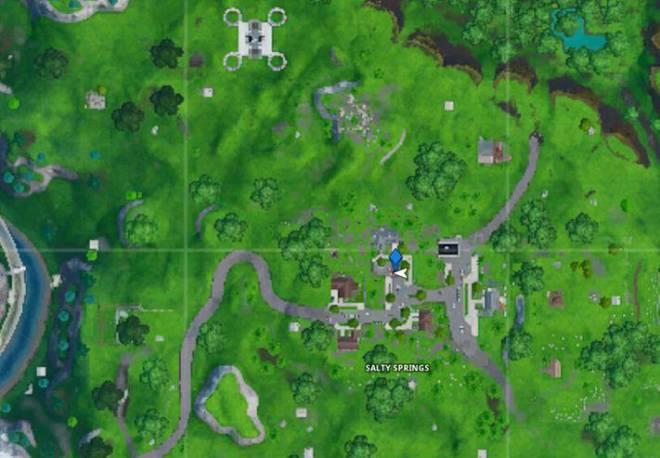 Fortnite: Battle Royale - Fortbyte 72 Location Guide image 8