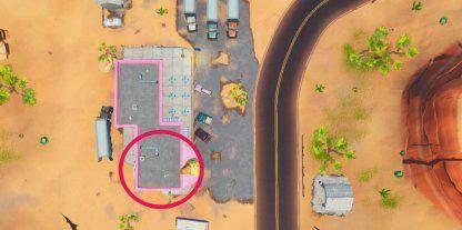 Fortnite: Battle Royale - Fortbyte 6 Location Guide image 13