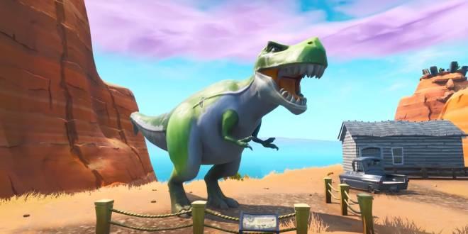 Fortnite: Battle Royale - Fortnite News - Dinosaurs Are in Polar Peak 5/26/19 image 5