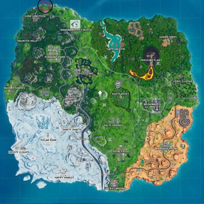 Fortnite: Battle Royale - Fortbyte 32 Location Guide image 4