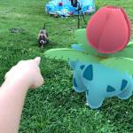 My Ivysaur against Houndoom