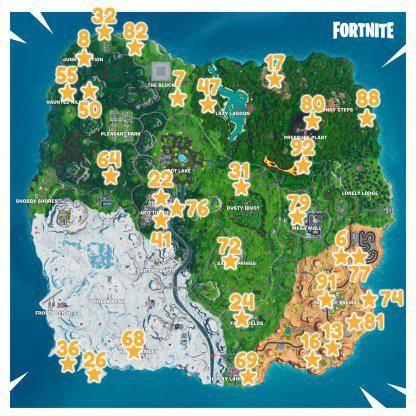 Fortnite: Battle Royale - Fortbyte 91 Location Guide *Leak* image 12