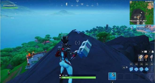 Fortnite: Battle Royale - Fortbyte 80 Location Guide image 6