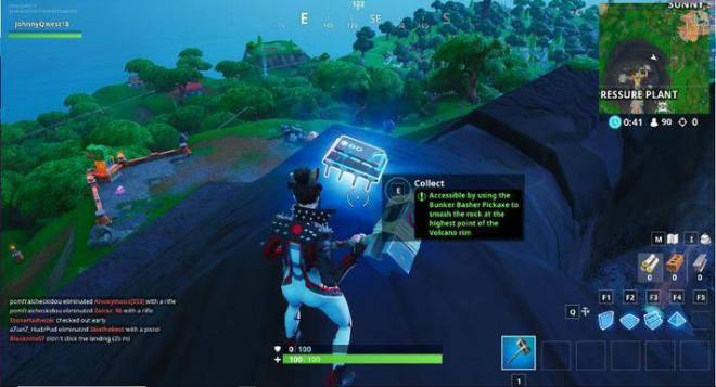 Fortnite: Battle Royale - Fortbyte 80 Location Guide image 2