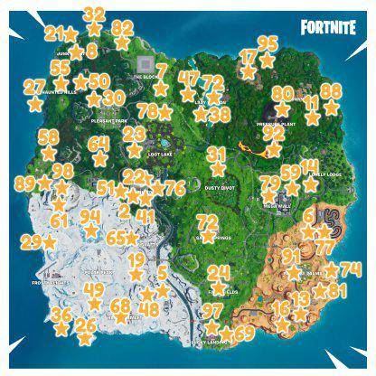 Fortnite: Battle Royale - Fortbyte #2 Location Guide image 14