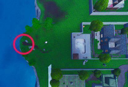 Fortnite: Battle Royale - Fortbyte #3 Location Guide image 11