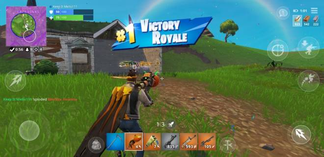 Fortnite: Battle Royale - I just found a pic of my first win image 2