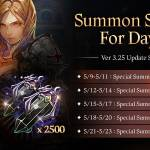 [Event] <3.25 Update Special> Summon Shards for Days! (5/9~ 5/23 CDT)