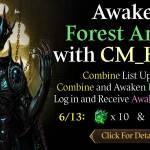 [CM Event] Awaken Forest Ankou with CM_Heylel (6/13 CDT)