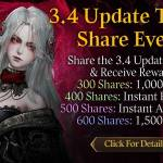 [CM Event] 3.4 Update Trailer Share Event (6/25 ~ 6/28 CDT)