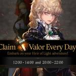 [Event] Daily Valor Hot Time Event (8/1 PDT ~ T.B.A)
