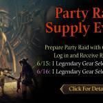 [CM Event] Party Raid Supply Event (6/15 ~ 6/16 CDT)