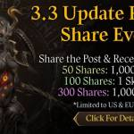 [CM Event] 3.3 Update Pre-Registration Share Event (5/20 ~ 5/27 CDT) [Updated]
