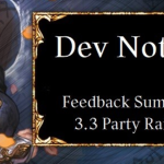 Dev Note #65 Feedback Summary After 3.3 Party Raid Update