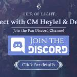 [Notice] New Feature for Heir of Light Discord