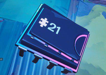 Fortnite: Battle Royale - Fortbyte #21 Location Guide image 2