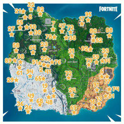 Fortnite: Battle Royale - Fortbyte #21 Location Guide image 10
