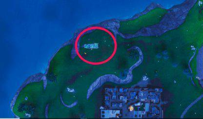 Fortnite: Battle Royale - Fortbyte #21 Location Guide image 6