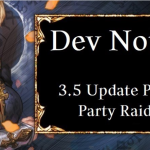 Dev Note # 73: 3.5 Update Preview #2: Party Raid Notice