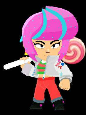 Brawl Stars: General - Candy Bibi! 🍭Skin Idea image 2