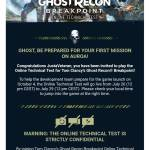 Breakpoint Technical Test Codes for Ps4