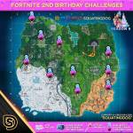 Happy Birthday Fortnite Challenge Map